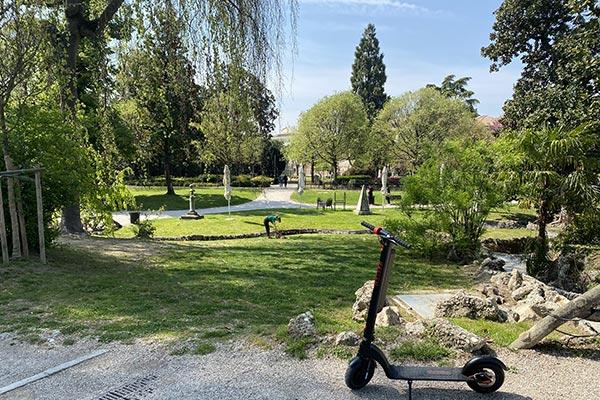 i giardini dell'arena a Padova